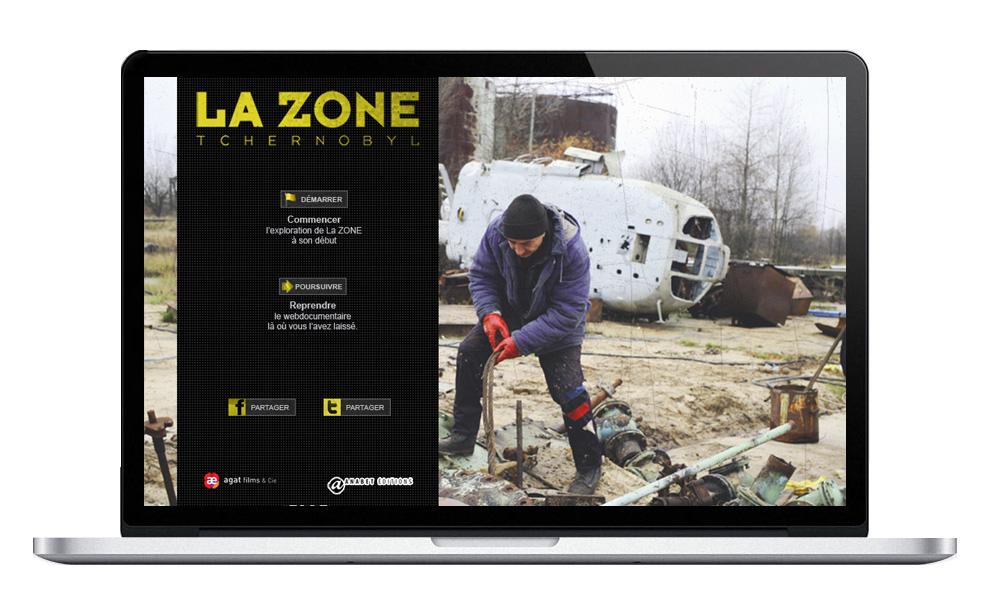 Réponse à un appel d'offre - Création d'une maquette de site animée sur Tchernobyl